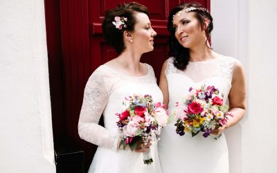 Hochzeitsfotos von Julia und Janice