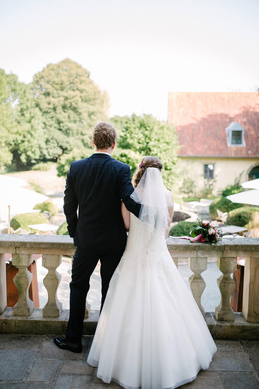Brautpaar beim Paarshooting.