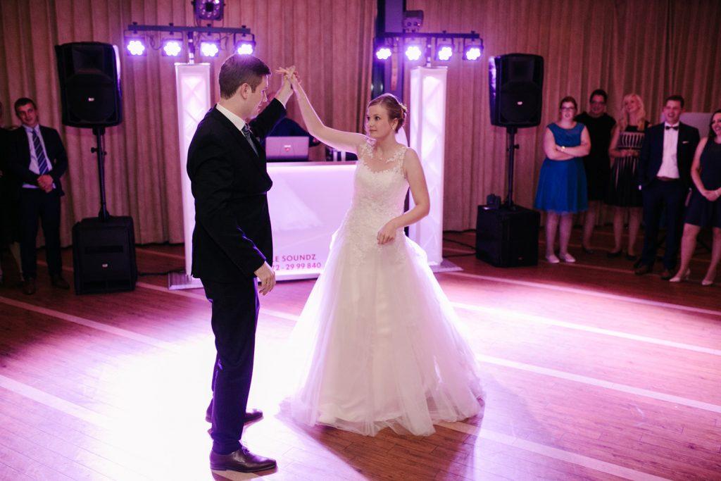 Tanz des Brautpaares.