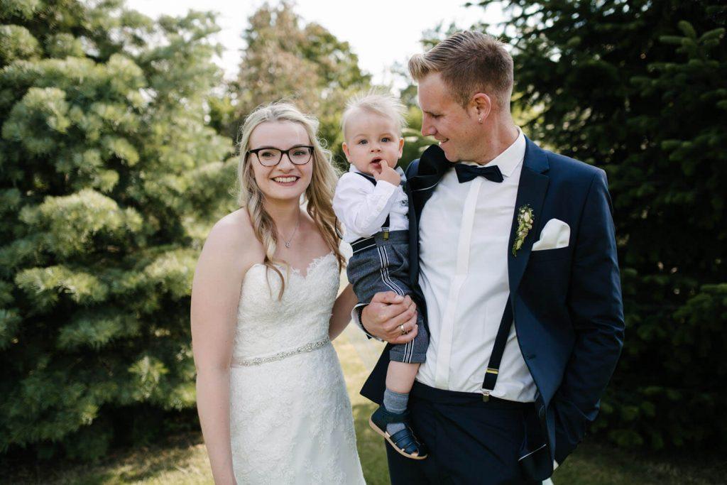 Hochzeitspaar beim Fotoshooting. Hochzeit Lingemann Wallenhorst.