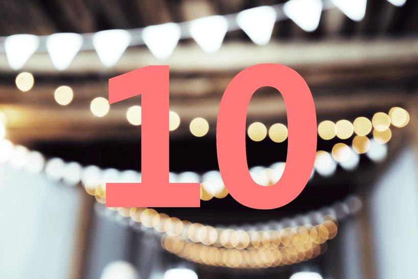 In 10 Schritten zur Hochzeitslocation