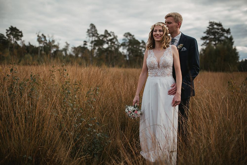 Brautpaar beim Hochzeitsshooting.