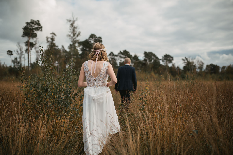 Fotoshooting vom Brautpaar.